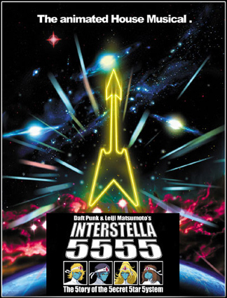 Daft Punk: Interstella 5555: The 5tory Of The 5ecret 5tar 5ystem [DVD9]