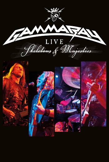 Gamma Ray: Skeletons And Majesties [DVD9]