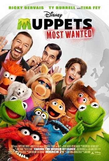 Muppets Most Wanted [BD25][Latino]