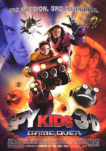 Spy Kids 3D: Game Over [DVD9] [Latino]