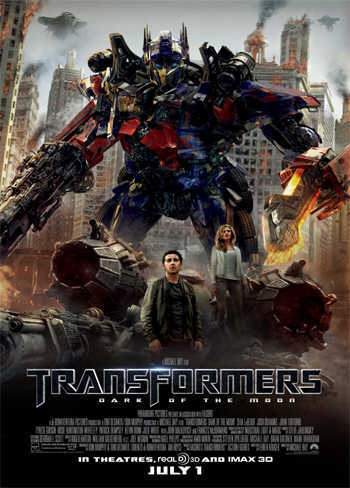 Transformers: Dark Of The Moon [DVD9] [Latino]