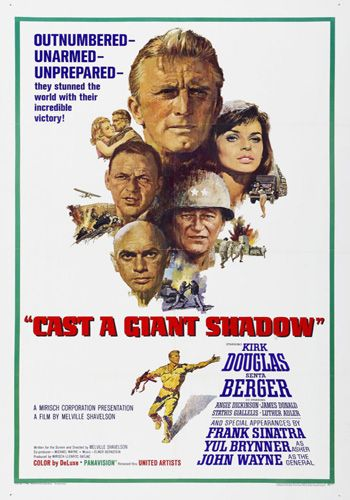 Cast A Giant Shadow [DVD9] [Latino]