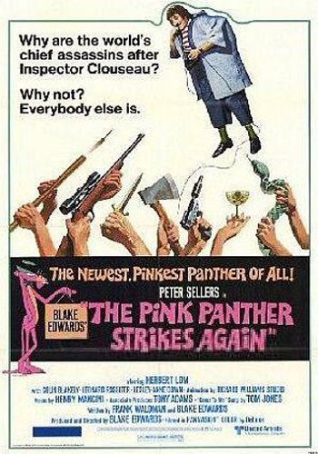 The Pink Panther Strikes Again [Latino]
