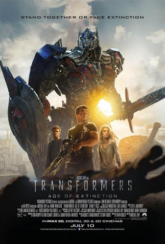 Transformers: Age of Extinction [BD25][Latino]