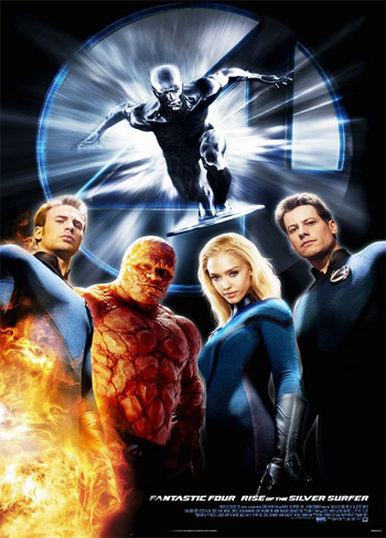 Fantastic Four: Rise of the Silver Surfer [Latino]