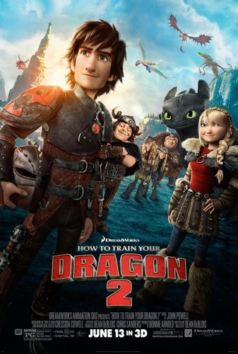How to Train Your Dragon 2 [DVDBD][Latino]