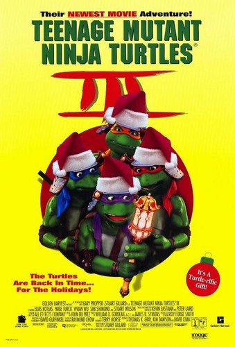 Teenage Mutant Ninja Turtles III [Latino]