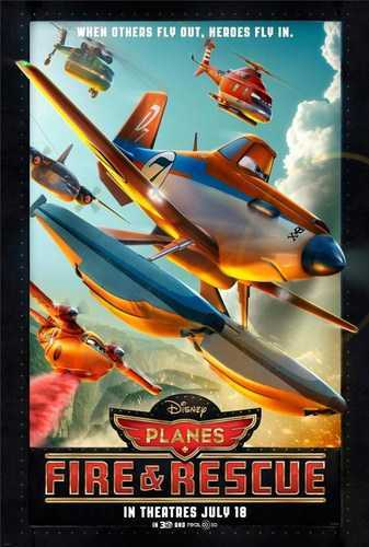 Planes: Fire & Rescue [BD25][Latino]