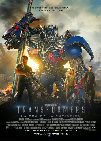 Transformers: Age of Extinction [DVD9] [Latino]