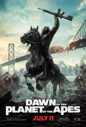 Dawn of the Planet of the Apes [DVD9][Latino]