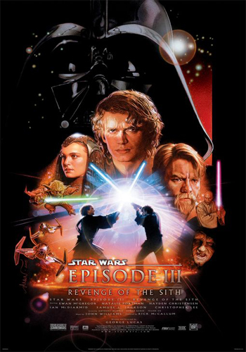 Star Wars – Episode III: Revenge of the Sith [DVD9] [Latino]
