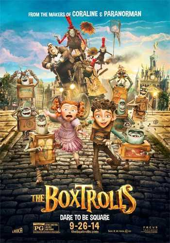 The Boxtrolls [DVD9] [Latino]
