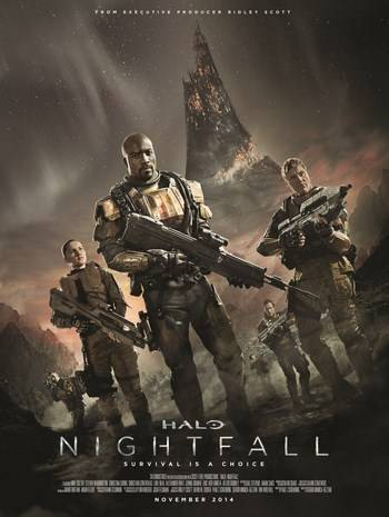 Halo: Nightfall [Latino]
