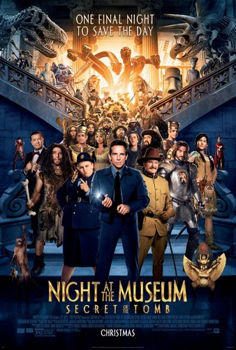Night at the Museum: Secret of the Tomb [BD25][Latino]