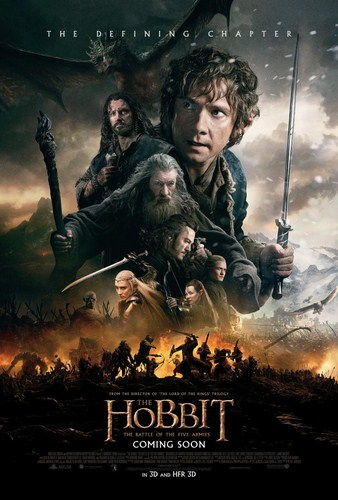 The Hobbit: The Battle of the Five Armies [BD25][Latino]
