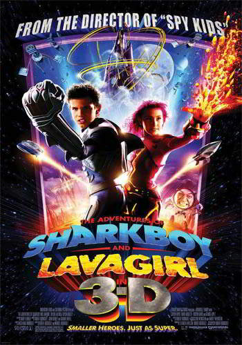 The Adventures of Sharkboy and Lavagirl [DVD9] [Latino]