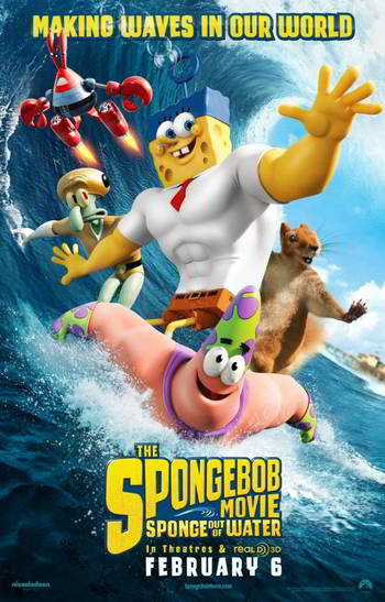 The SpongeBob Movie: Sponge Out of Water [BD25][Latino]