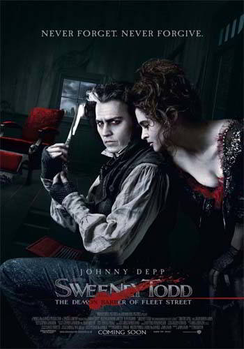 Sweeney Todd: The Demon Barber of Fleet Street [DVD9] [Latino]