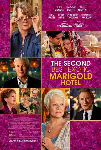 The Second Best Exotic Marigold Hotel [BD25][Latino]