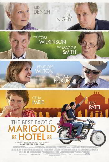 The Best Exotic Marigold Hotel [Latino]