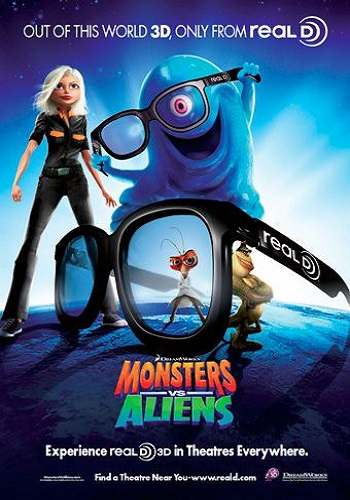 Monsters vs Aliens [Latino]