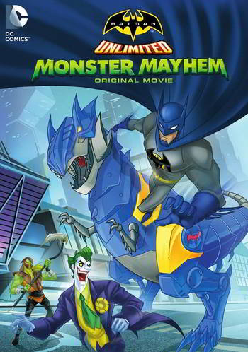 Batman Unlimited: Monster Mayhem [BD25][Latino]
