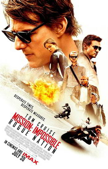 Mission: Impossible – Rogue Nation [BD25][Latino]