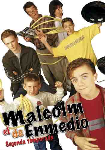 Malcolm in the Middle: Season 2 [DVD9] [Latino]