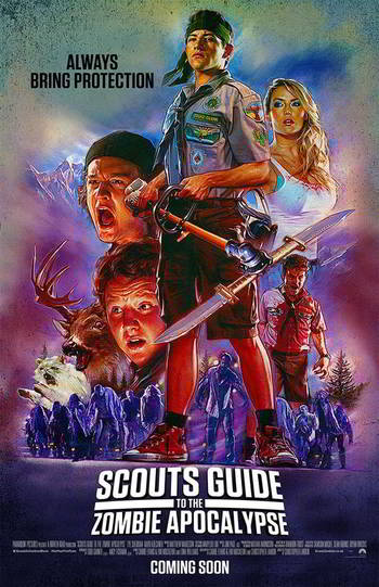 Scouts Guide to the Zombie Apocalypse [BD25][Latino]