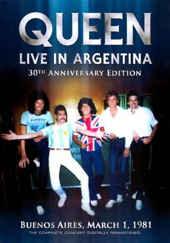 Queen: Live in Buenos Aires – 30th Anniversary [DVD9]