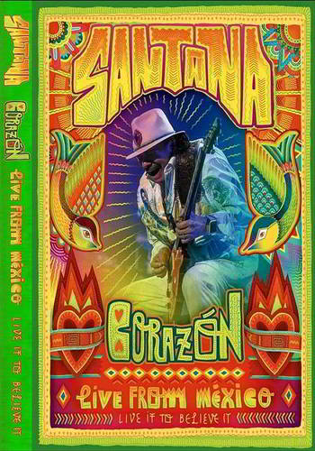 Santana: live From Mexico Live it to Believe it [DVD9]