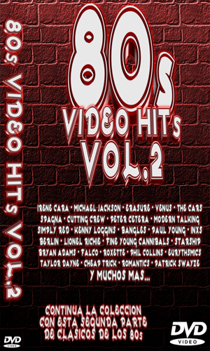 80'S: Video Hit's Vol. 2