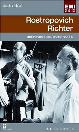 Beethoven: The Cello Sonatas – Mstislav Rostropovich, Sviatoslav Richter [DVD9]