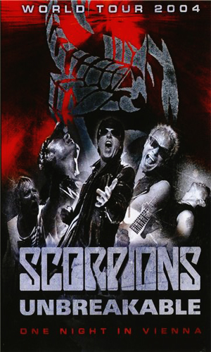 Scorpions: Unbreakable – One night in Vienna [DVD9]