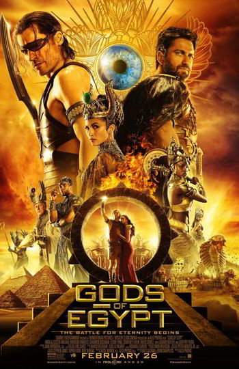 Gods of Egypt [DVD9][Latino]