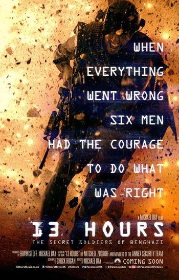 13 Hours: The Secret Soldiers of Benghazi [BD25][Latino]