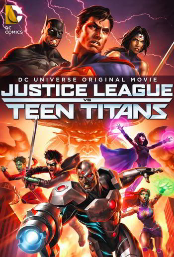 Justice League vs. Teen Titans [DVD9][Latino]