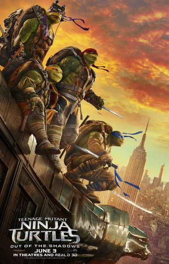 Teenage Mutant Ninja Turtles: Out of the Shadows [BD25][Latino]