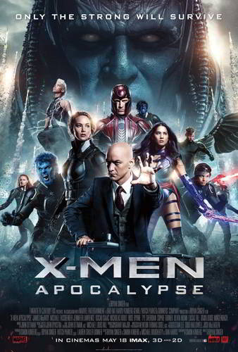 X-Men: Apocalypse [BD25][Latino]