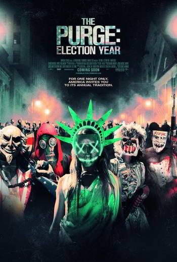 The Purge: Election Year [BD25][Latino]