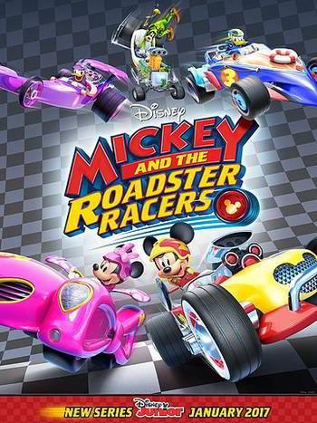 Mickey and the Roadster Racers [Latino]